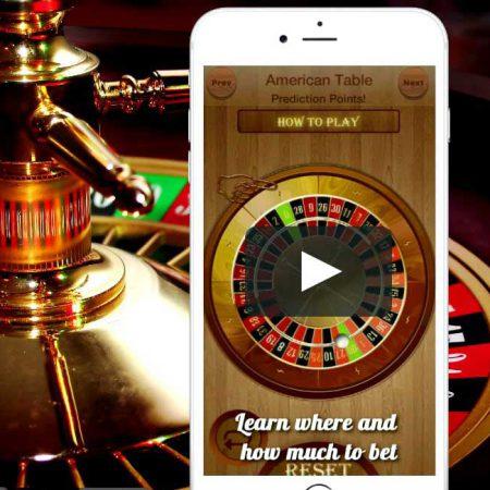 Op de smartphone roulette spelen