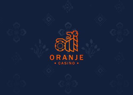 Oranje casino welkom bonus  €100,-